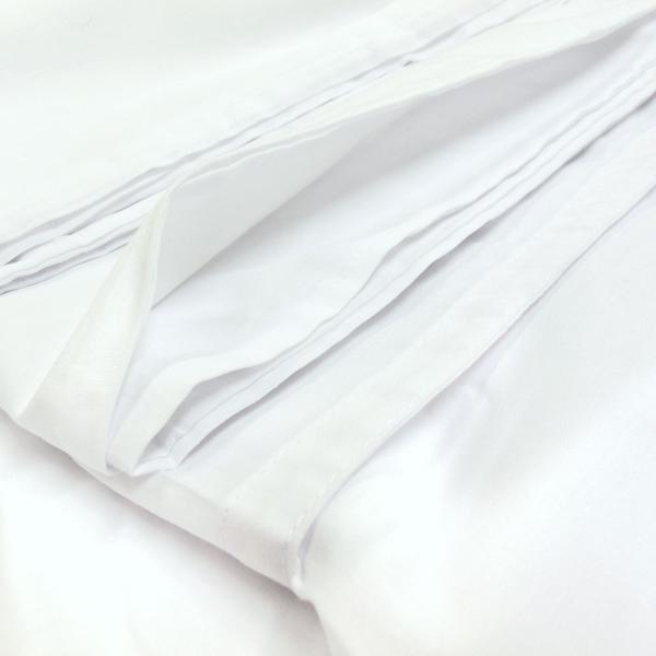布団カバー【業務用】テレビ型掛け布団カバー ダブル 旅館等でよく使われる中央くりぬきタイプです(190cm×200cm)|nerumono-ya|03