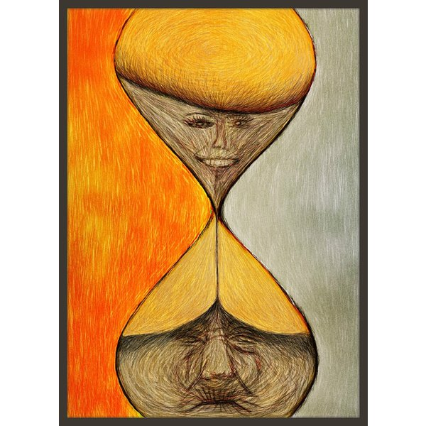 絵画「タイムカプセル」 ジクレー版画 ヨーロッパで大人気 ネルバ作 111-202 nerva
