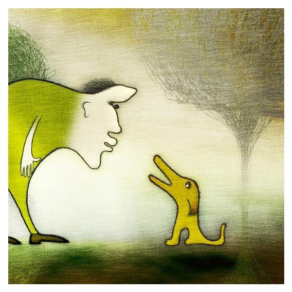 絵画「よしよし、いい子だ」 ジクレー版画 ヨーロッパで大人気 ネルバ作 111-204|nerva|02