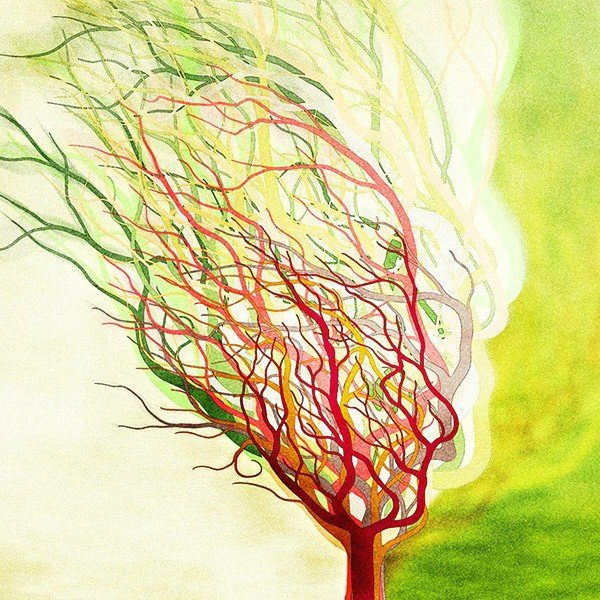 絵画「木は生きている」 ジクレー版画 ヨーロッパで大人気 ネルバ作 112-209|nerva|02