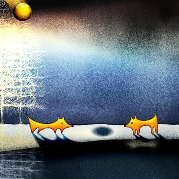絵画「きっとここであってるよね」 ジクレー版画 ヨーロッパで大人気 ネルバ作 112-210|nerva|02
