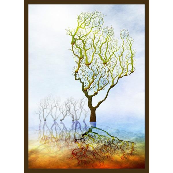 絵画「つぼみ」 ジクレー版画 ヨーロッパで大人気 ネルバ作 112-213|nerva