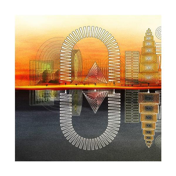 絵画「らせんの街」 ジクレー版画 ヨーロッパで大人気 ネルバ作 113-219|nerva|02