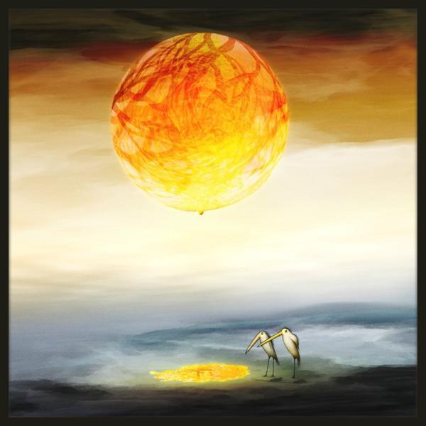 絵画「太陽がこぼれてるよ!」 ジクレー版画 ヨーロッパで大人気 ネルバ作 113-226|nerva