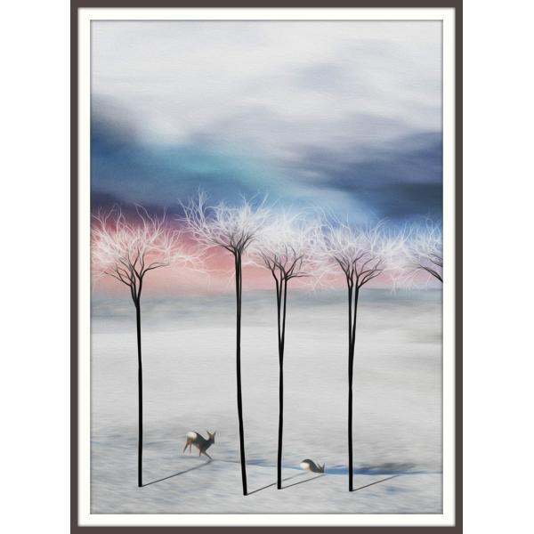 絵画「あっちにいってみようぜ」 ジクレー版画 ヨーロッパで大人気 ネルバ作 114-231|nerva
