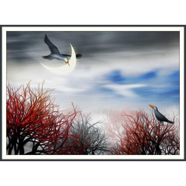 絵画「おあつらえむきだね」 ジクレー版画 ヨーロッパで大人気 ネルバ作 114-240|nerva