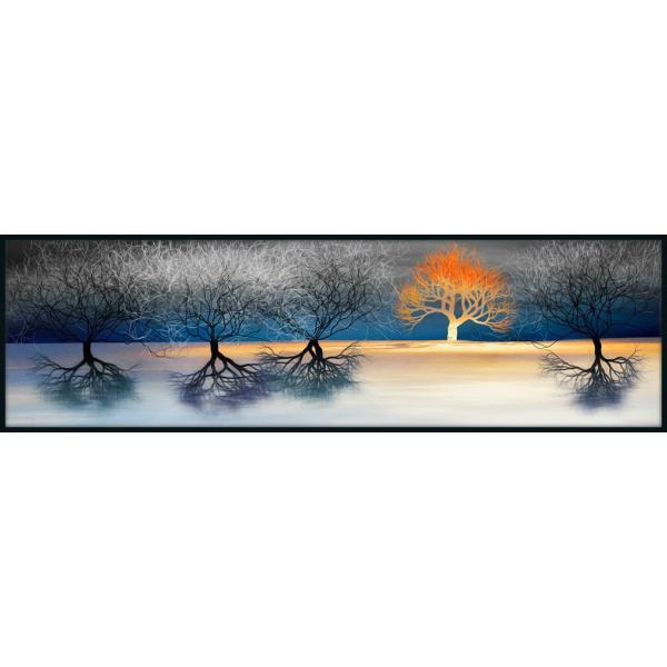 絵画「夕映えの木」 ジクレー版画 ヨーロッパで大人気 ネルバ作 114-242|nerva