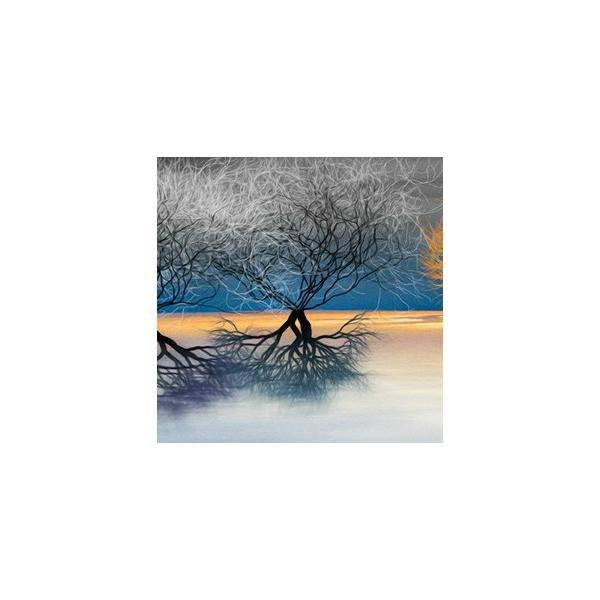 絵画「夕映えの木」 ジクレー版画 ヨーロッパで大人気 ネルバ作 114-242|nerva|03