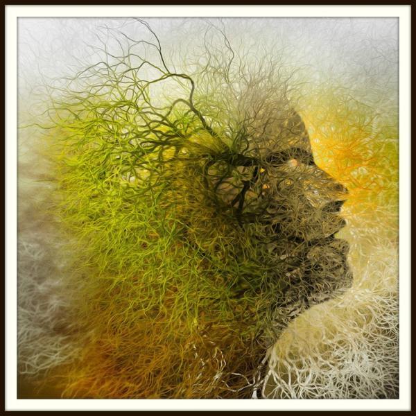 絵画「インスピレーション」 ジクレー版画 ヨーロッパで大人気 ネルバ作 114-243|nerva