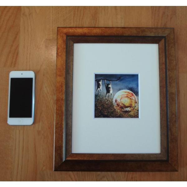 絵画「夜中のひなたぼっこ」 ジクレー版画 ヨーロッパで大人気 ネルバ作 114-245|nerva|03
