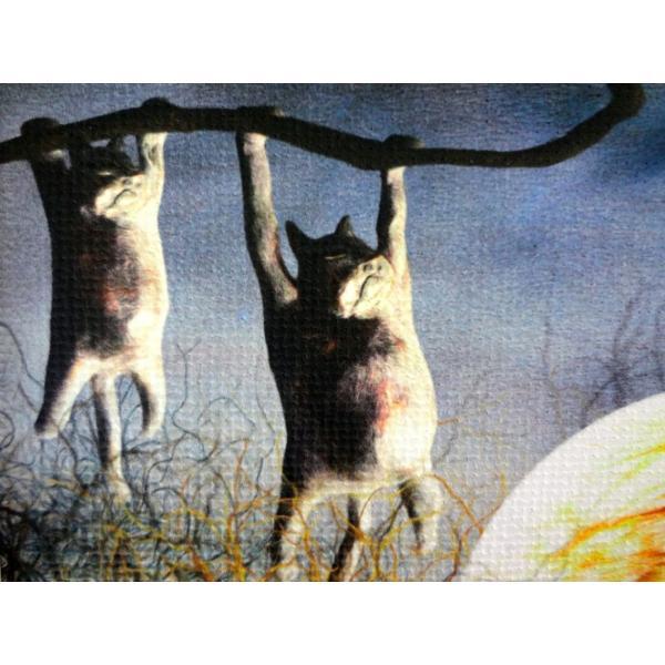 絵画「夜中のひなたぼっこ」 ジクレー版画 ヨーロッパで大人気 ネルバ作 114-245|nerva|05