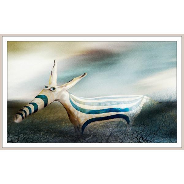 絵画「そう、ぼくちょっと変わってるんだ」 ジクレー版画 ヨーロッパで大人気 ネルバ作 114-246|nerva