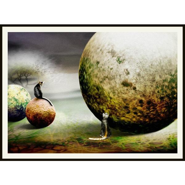 絵画「夢は大きくってことさ」ジクレー版画 ヨーロッパで大人気 ネルバ作 115-266|nerva