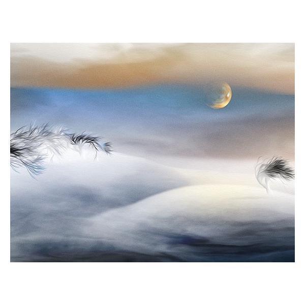 絵画 ネルバ作「雪どけ前のなごり雪」116-272 ジクレー版画 2016年製作 限定18枚|nerva|03