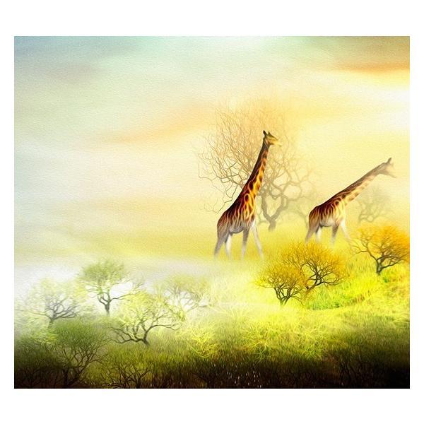 絵画 ネルバ作「霧のたちこめる朝」116-274 キャンバス・ジクレー版画|nerva|02