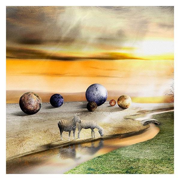 絵画 ネルバ作「橋のむこうに子羊のいるたそがれどき」116-278 ジクレー版画 2016年製作 限定16枚|nerva|03