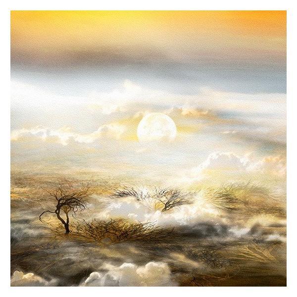 絵画 ネルバ作「月、雲海より打ち上げ準備よし」116-293 ジクレー版画 2016年製作 限定18枚|nerva|02
