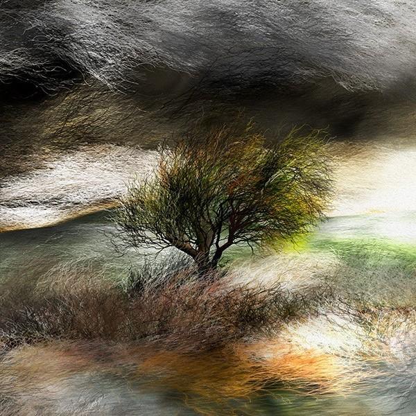 絵画 「嵐、来るかな?」118-309 ネルバ作 ジクレー版画|nerva|02