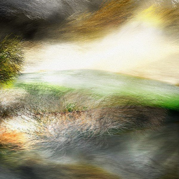 絵画 「嵐、来るかな?」118-309 ネルバ作 ジクレー版画|nerva|03