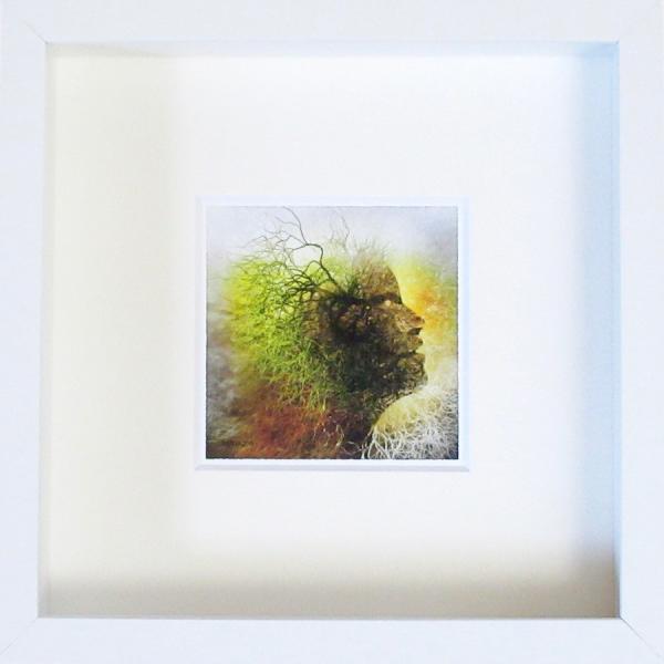 絵画 ネルバ作「インスピレーション」額付き 2015年製作 限定100枚  ジクレー版画 ヨーロッパで大人気 215-253|nerva