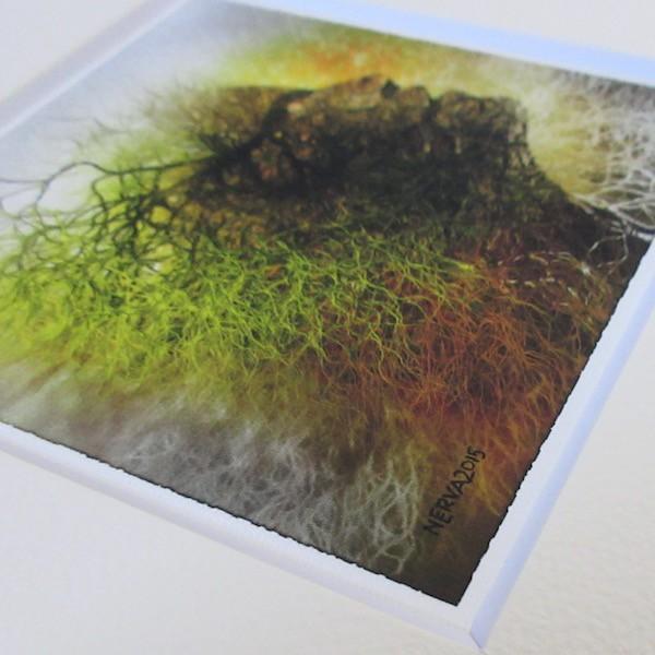 絵画 ネルバ作「インスピレーション」額付き 2015年製作 限定100枚  ジクレー版画 ヨーロッパで大人気 215-253|nerva|04