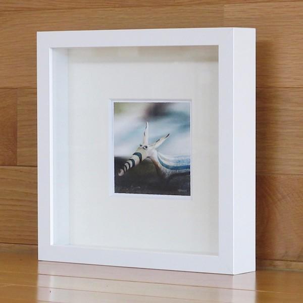 絵画 ネルバ作「そう、ぼくちょっと変わってるんだ」額付き 2015年製作 限定100枚  ジクレー版画 ヨーロッパで大人気 215-256 nerva 04