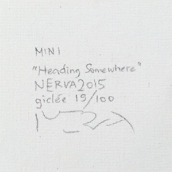北欧絵画 犬の絵 額付き ネルバ作「どこに向かってるんだろう」額付きジクレー版画 215-257|nerva|05