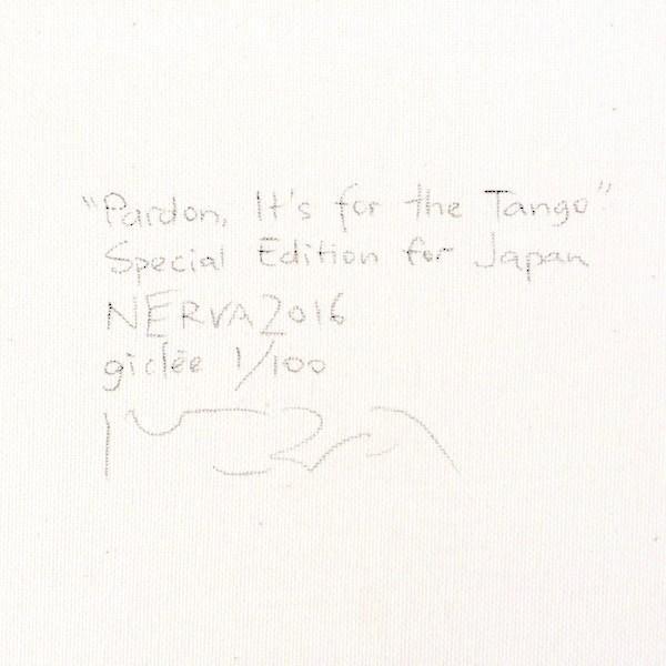 北欧絵画 ネルバ作「失敬、タンゴを踊るためなので」額付き 日本限定作品 ジクレー版画 ヨーロッパで大人気 216-151|nerva|05