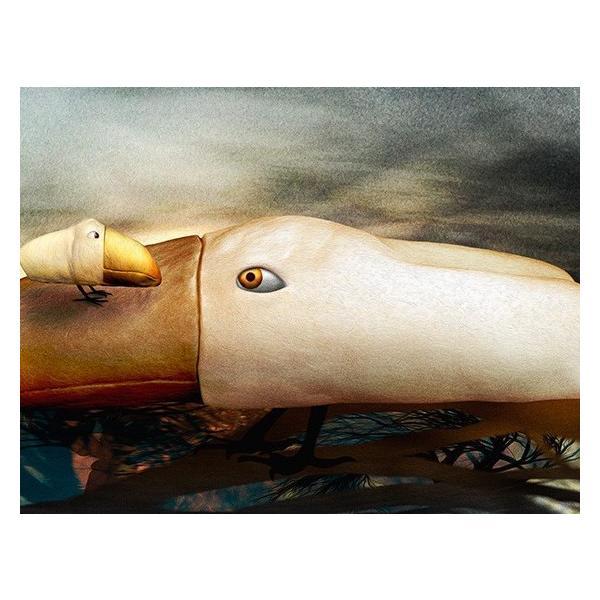 額縁付き 絵画 ネルバ作「おかえり。どこに行ってたの?」316-273 ジクレー版画|nerva|06