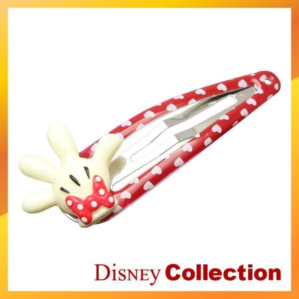 ディズニー 公式 ミニー マウス ドット ヘア クリップ ブローチ バレッタ アクセサリー disney_y