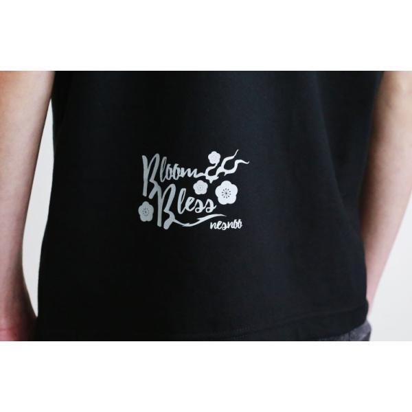 Tシャツ 和柄 梅遷龍   ユニセックス 半袖 クルーネック 和風 メンズ レディース|nesnoo-shop|04