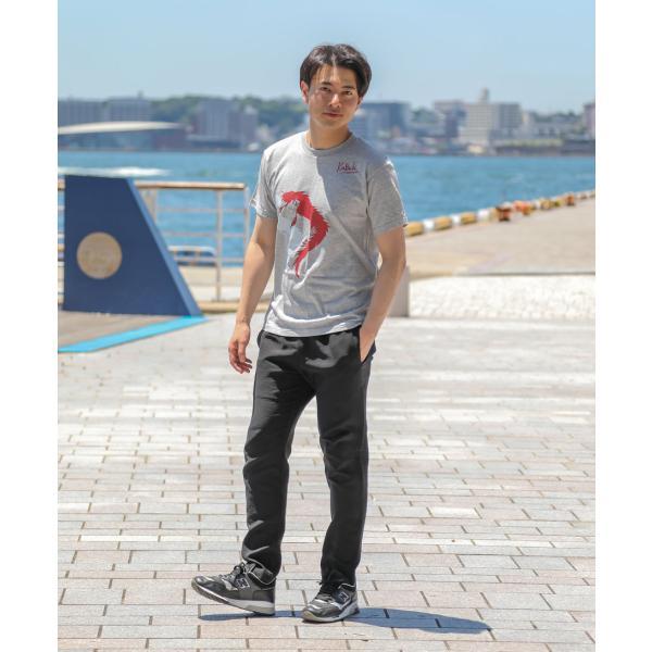 【Kabuki×nesnoo】連獅子ヘッド(れんじしへっど) / 歌舞伎 和柄Tシャツ メンズ レディース ユニセックス 半袖 クルーネック|nesnoo-shop|02