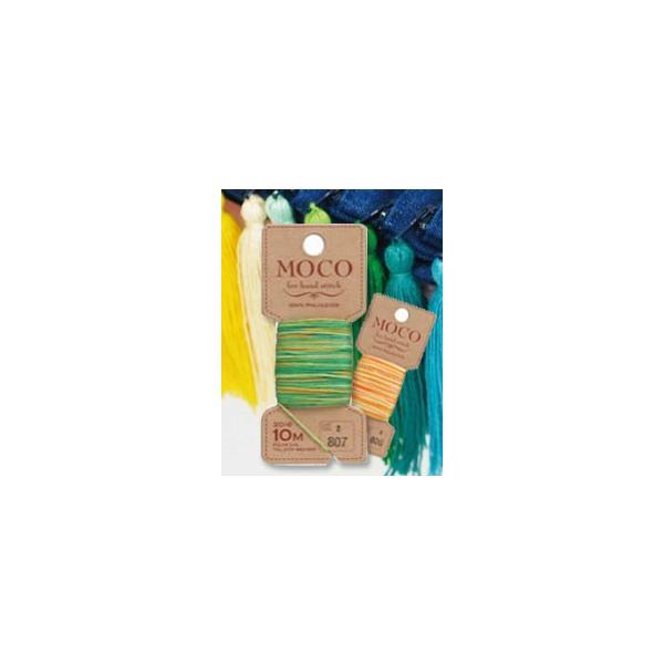 【糸】FUJIX フジックス・手縫いステッチ糸MOCOグラデーション・モコカラー20色)