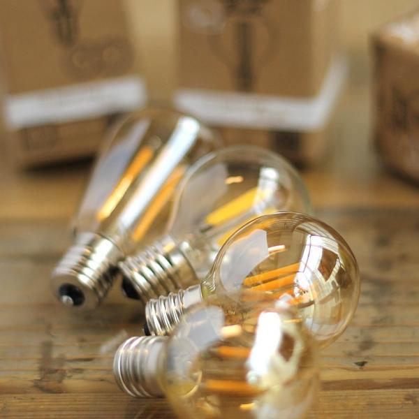 2個セット 口金E17 調光器対応 エジソン バルブ LED E17 LED電球 照明 エジソン電球 レトロ フィラメントLED シャンデリア おしゃれ|nestbeauty|21