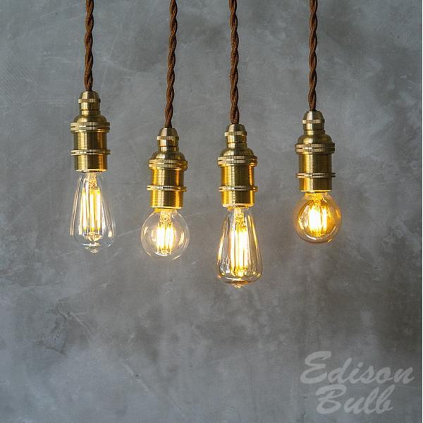 2個セット 口金E17 調光器対応 エジソン バルブ LED E17 LED電球 照明 エジソン電球 レトロ フィラメントLED シャンデリア おしゃれ|nestbeauty|04