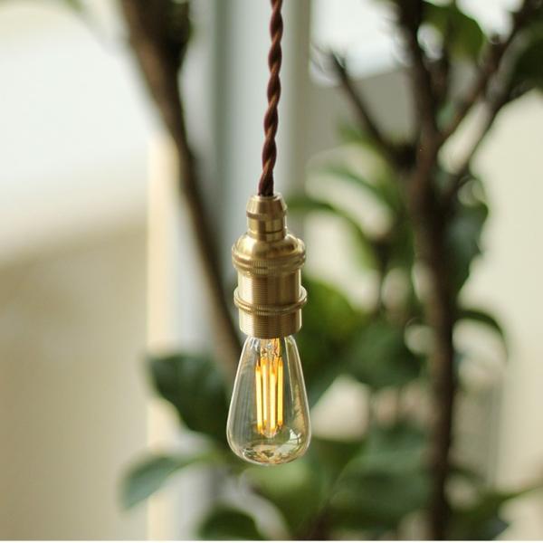 2個セット 口金E17 調光器対応 エジソン バルブ LED E17 LED電球 照明 エジソン電球 レトロ フィラメントLED シャンデリア おしゃれ|nestbeauty|09
