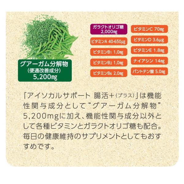 アイソカルサポート 腸活 プラス 6本セット NHS 食物繊維 便秘 血糖 高発酵|nestle|12