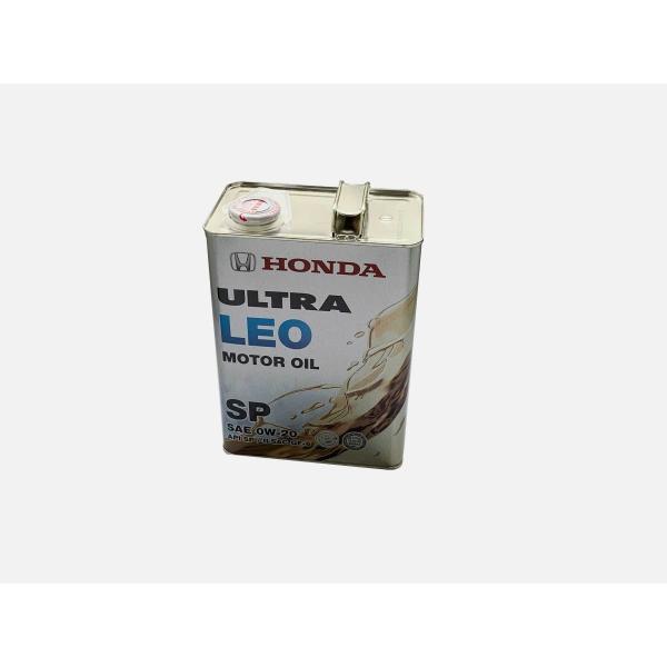 ☆ホンダ純正ウルトラLEO エンジンオイル SN 0W-20 4L 特価▽ NET 部品館
