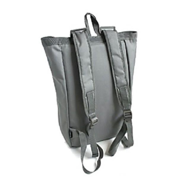 水に強い防水加工 布使用リュックサックなるトートバッグ BR066YN ブラック