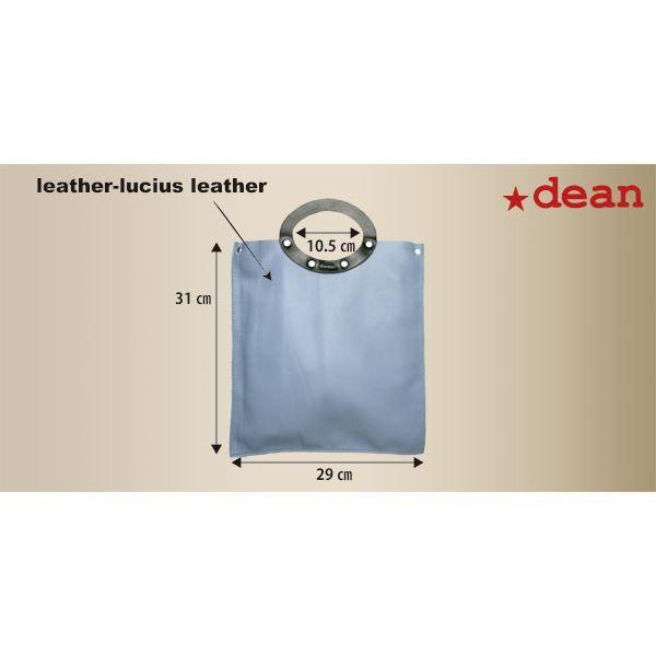 dean(ディーン) rectangular bag ハンドバッグ 茶