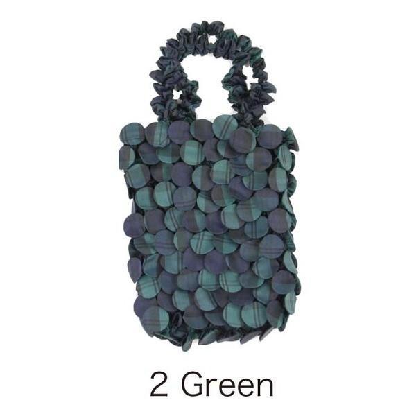 HAM−12絞りバッグ Green