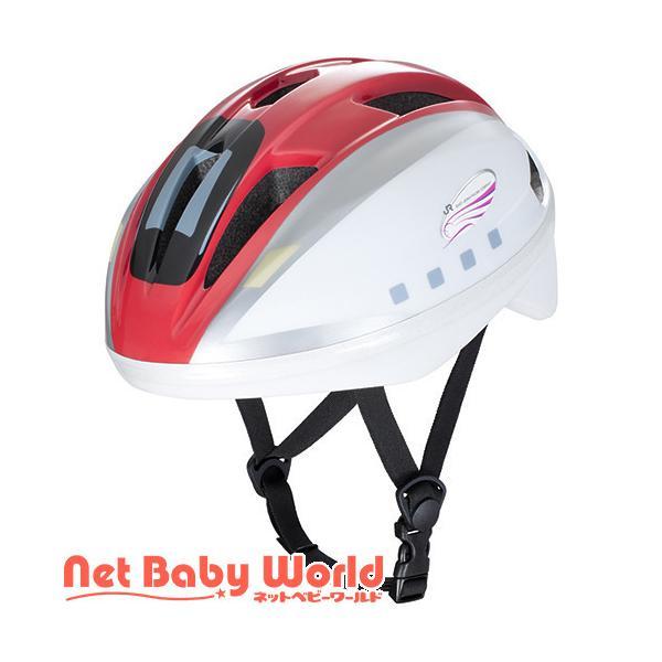 キッズヘルメットS 新幹線 E6系 こまち ( 1セット )/ アイデス ( 三輪車 のりもの ヘルメット )