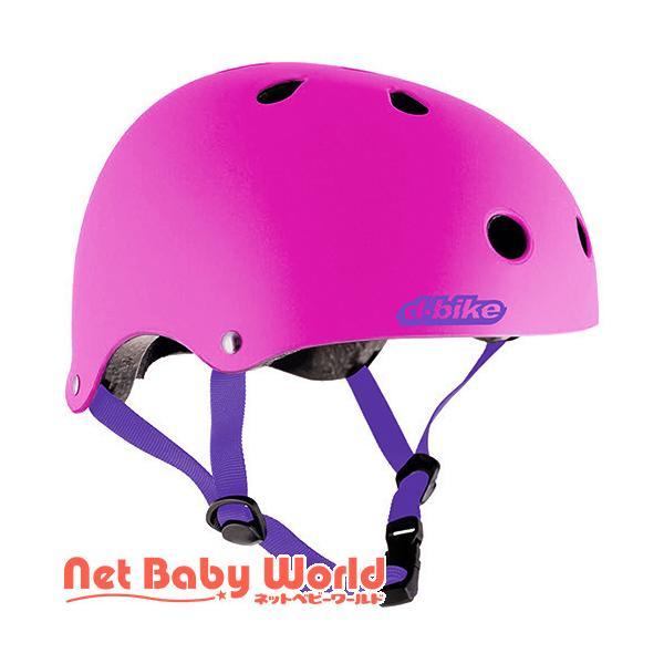 D-Bike キッズヘルメット ピンク Sサイズ ( 1個 )/ アイデス ( 三輪車 のりもの ヘルメット )