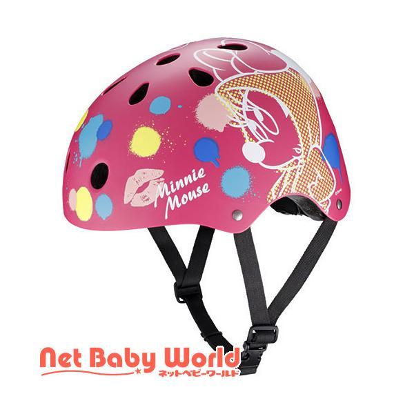 ストリート ヘルメット ミニーマウス ( 1個 )/ アイデス ( 三輪車 のりもの ヘルメット )