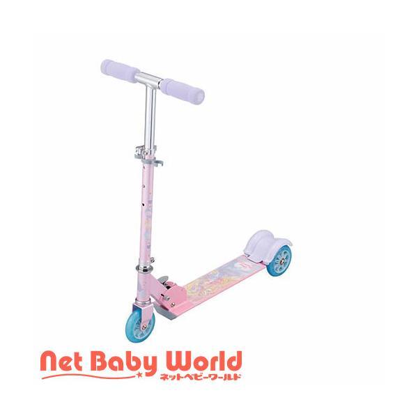 キックスクーター プリンセス ピンク ( 1台 )/ アイデス ( 三輪車 のりもの スクーター キックボード )