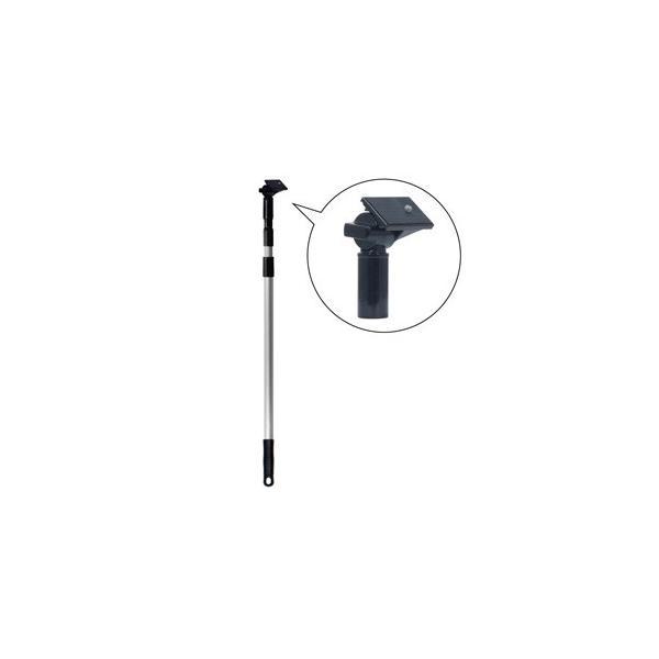 ジェフコム デンサン DLC-CUP180 雲台付ポール カメラ等用 3段