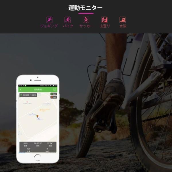 多機能スマートウォッチ ブレスレット 日本語対応 腕時計 血圧測定 心拍 歩数計 活動量計 IP67防水 LINE 新型 睡眠検測 iPhone Android アウトドア スポーツ