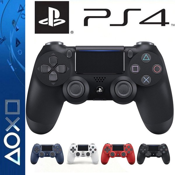 PS4 ワイヤレス コントローラー プレステ 4 Playstation 4 互換品 PS4 Pro 対応 無線 加速度 振動 重力感応 6軸機能 高耐久ボタン|netdirect