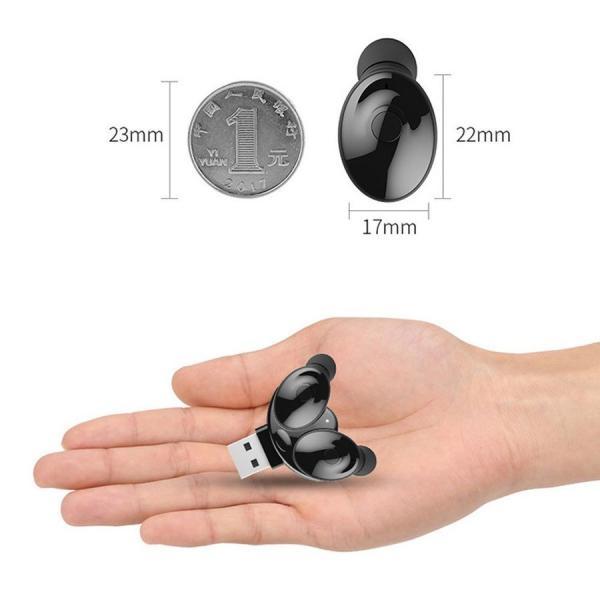 ワイヤレスイヤホン Bluetooth イヤホン両耳 車載イヤフォン ブルートゥース  USBチャージャー付き 高音質 防水|netdirect|04