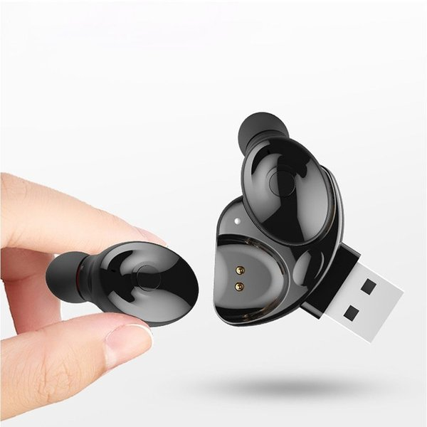 ワイヤレスイヤホン Bluetooth イヤホン両耳 車載イヤフォン ブルートゥース  USBチャージャー付き 高音質 防水|netdirect|07